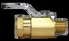 350BV, Brass Mini Ball Valve