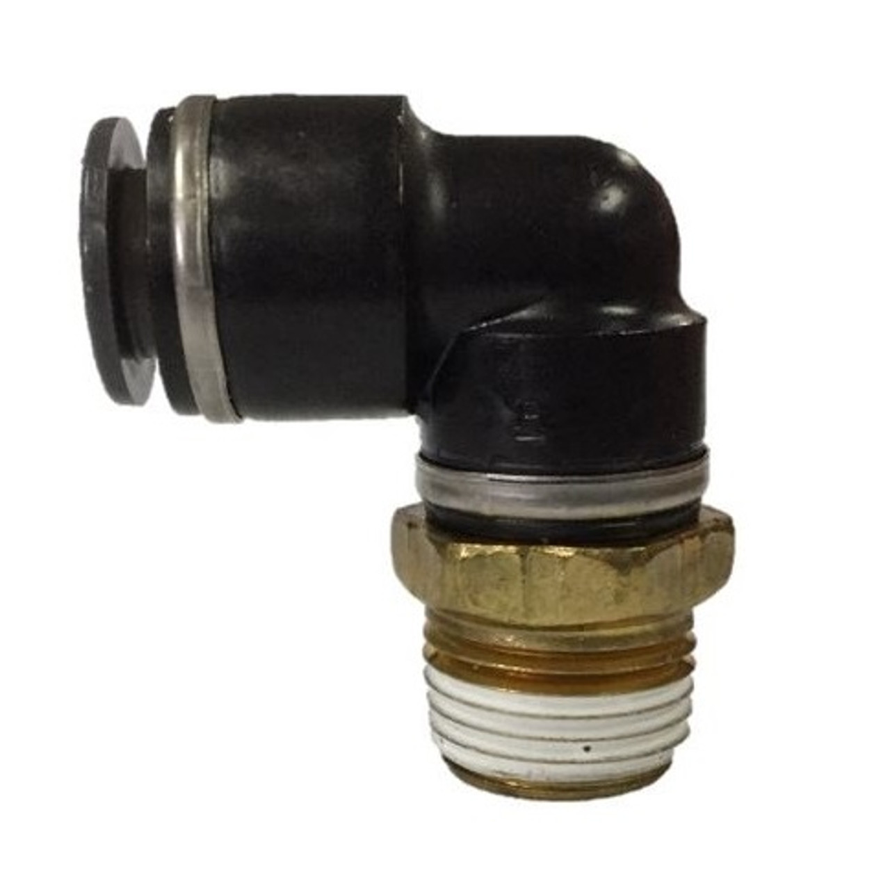 DOT Push to Connect Composite Fitting, 90° Male Elbow, C269PPSDOT Series