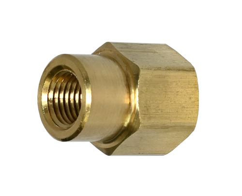 119A: Brass Pipe Fitting, Reducing Female Pipe Coupling