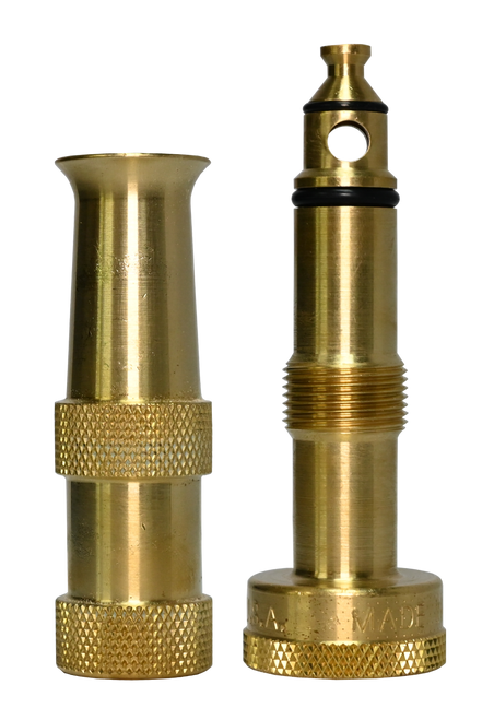 Brass Variable Spray Garden Hose Nozzle