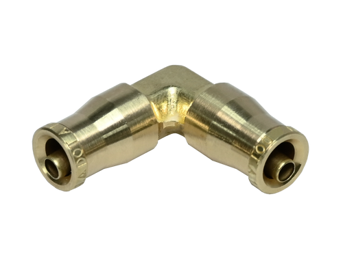 265PPDOT, Brass DOT Push to Connect 90° Union Elbow