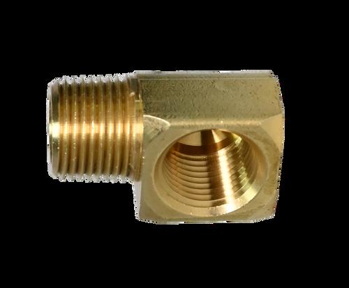 Brass 90° Male Street Elbow Fitting