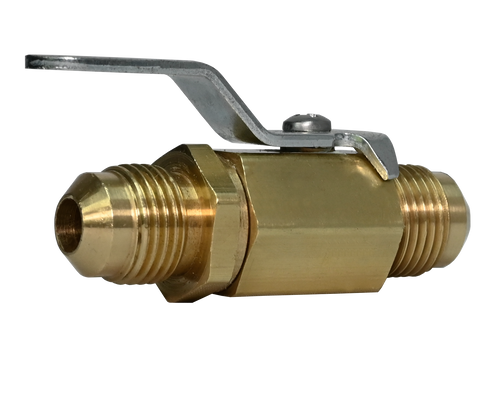 356BV, Brass Male Flare Mini Ball Valve