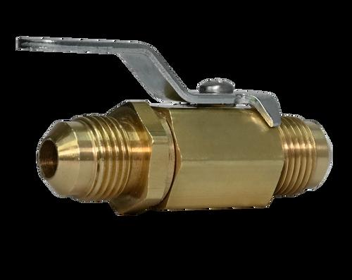 356BV, Brass Male Flare Mini Ball Valve