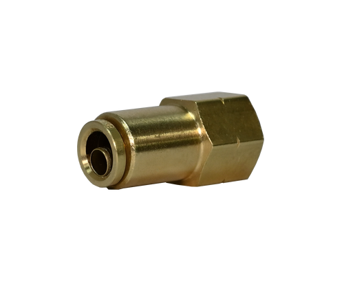 266PPDOT, Brass Push to Connect DOT Female Connector Fitting
