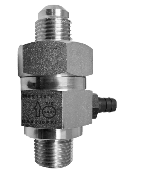 """ABF-1SS, 3/8"""" Flare x 3/8"""" MPT Stainless Steel Backflow Preventer"""