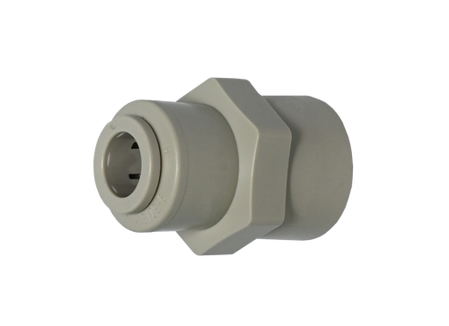 A6FF6-MG, 45° Female Flare Connector