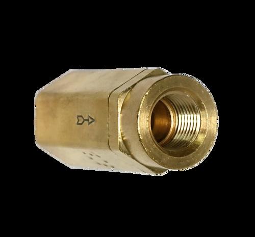 752CV, Brass Female NPT Check Valve