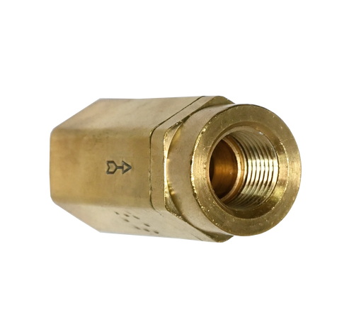 752CV, Brass Female NPT Check Valve