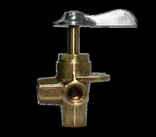 200C, Brass 4-Way Female Pipe Thread Marine Selector Valve