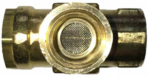 234S, Strainer Valve (Top View)