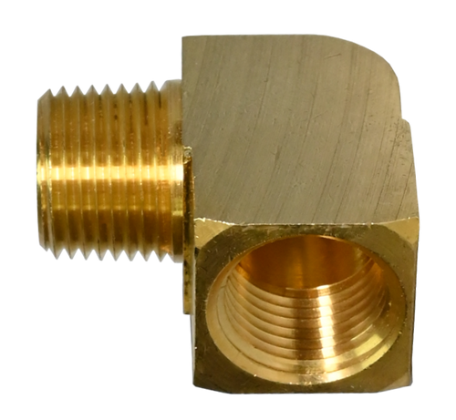 116A-BK, 90° Extruded Street Elbow