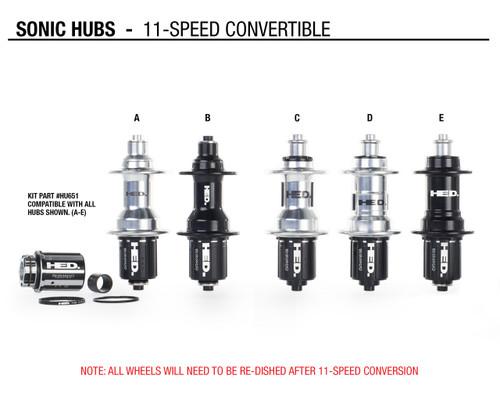 11-speed Conversion