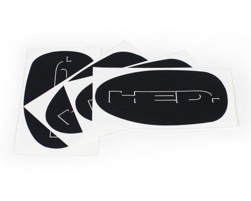 HED Disc/ H3 Valve Hole Decal set of 4