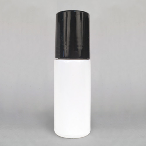 Extra Large 30ml White Glass Roll On Bottle for Essential Oil Blends & Lotions