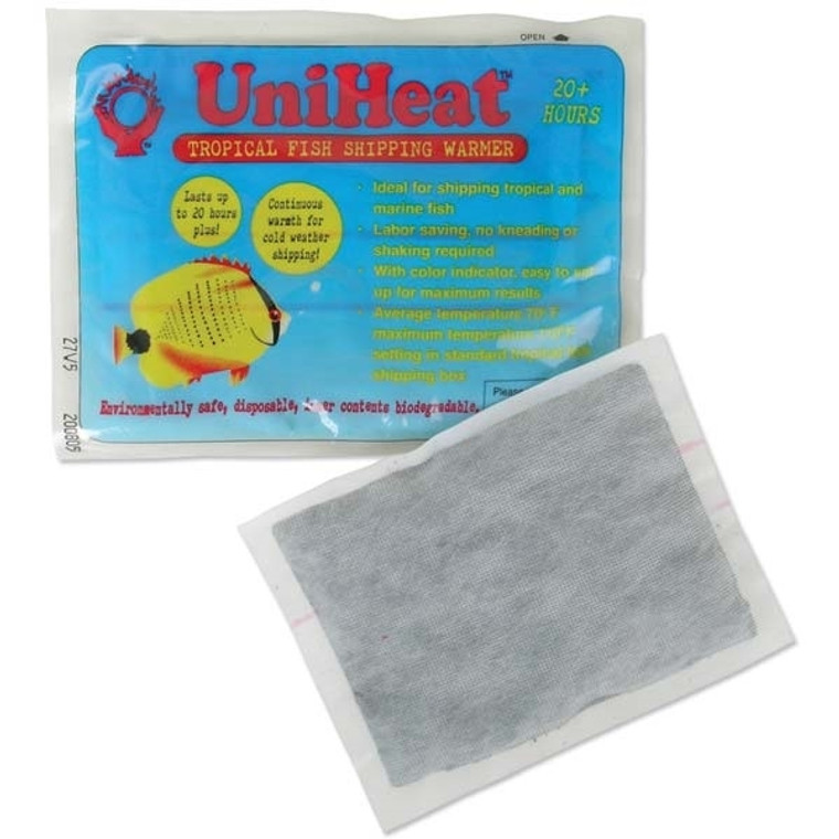 UniHeat Heat Pack 20hr Fish & Coral Shipping Warmer