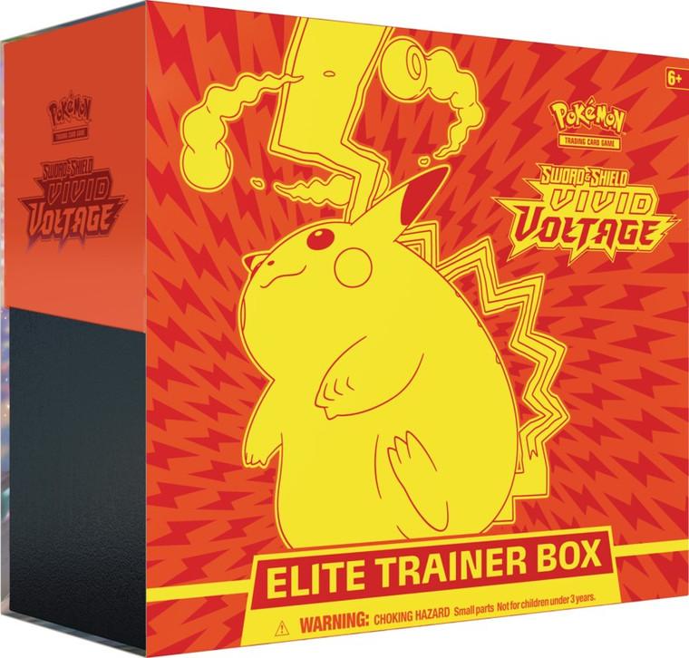 Vivid Voltage - Sword & Shield - Elite Trainer Box - Pokemon