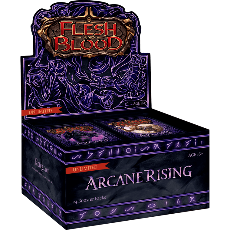 Arcane Rising Booster Box & Packs - Unlimited - Flesh and Blood