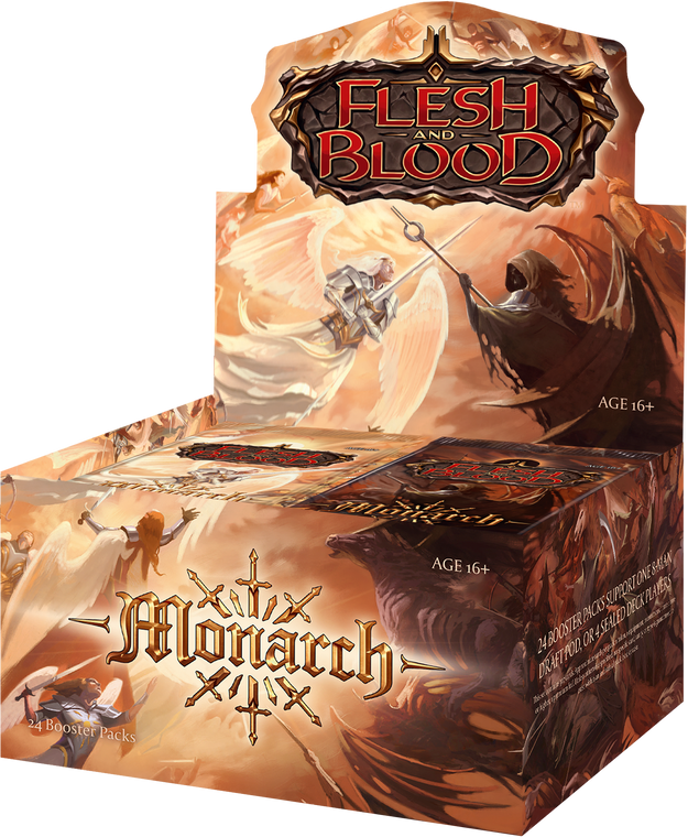 Monarch Booster Box & Packs - 1st Edition - Flesh and Blood