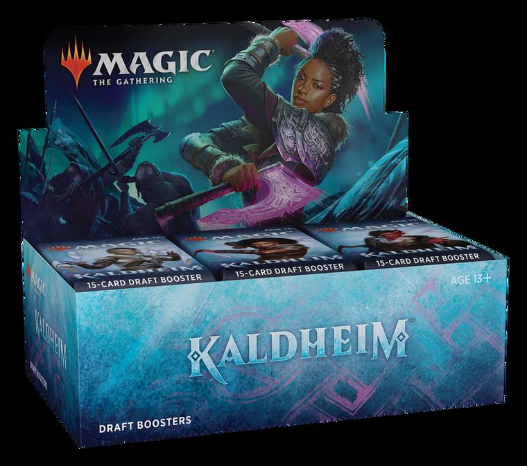 Kaldheim Draft Booster Box & Packs - MTG