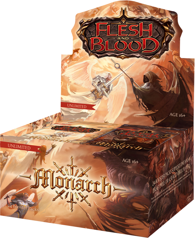 Monarch Booster Box & Packs - Unlimited - Flesh and Blood