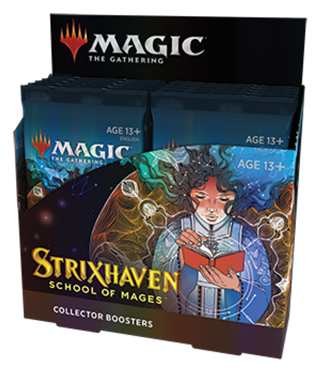 Strixhaven School of Mages Collector Booster Box - MTG