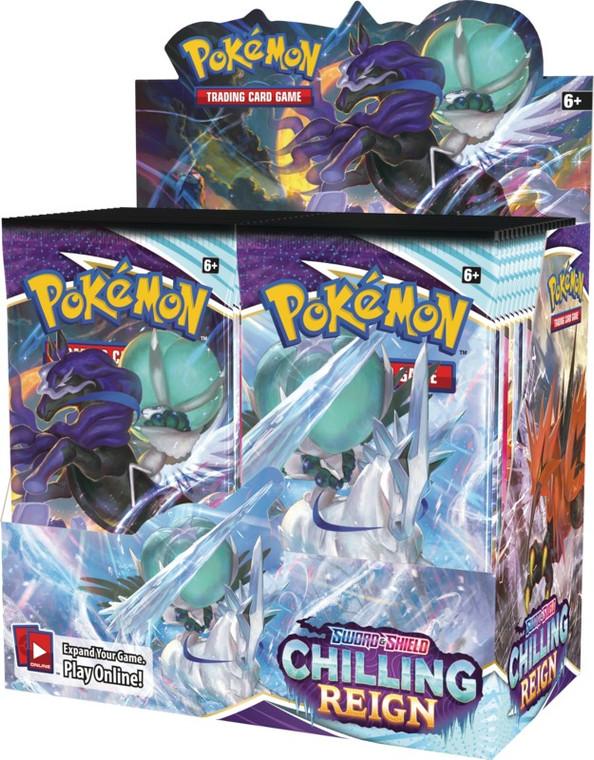 Chilling Reign Booster Box - Pokemon