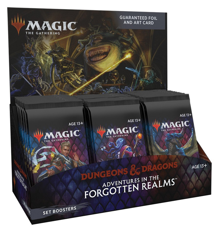 Adventures in the Forgotten Realms - SET Booster Box - MTG