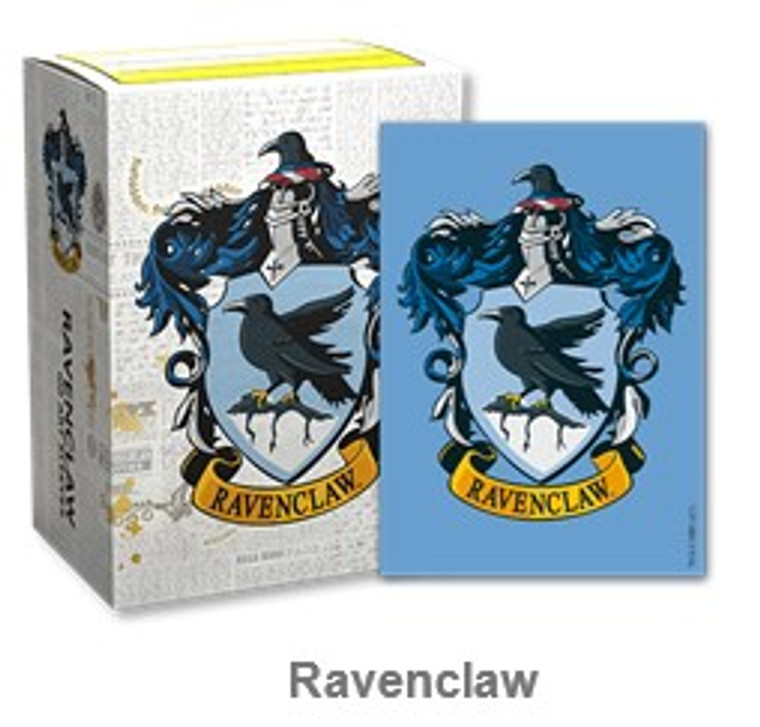 Ravenclaw - Brushed Sleeves - Dragon Shield