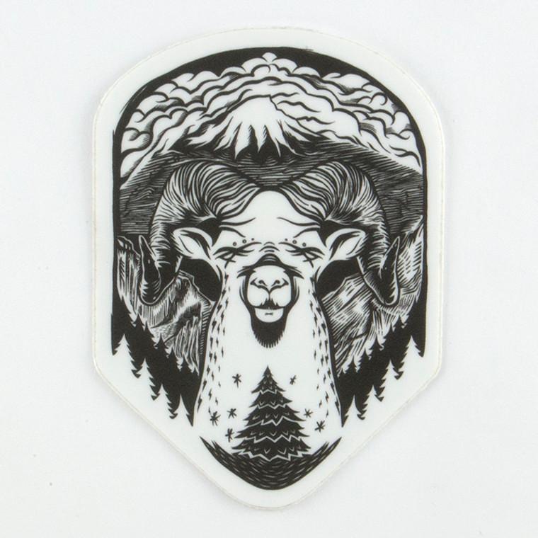 Bighorn Sheep San Juanimal Dreams Sticker