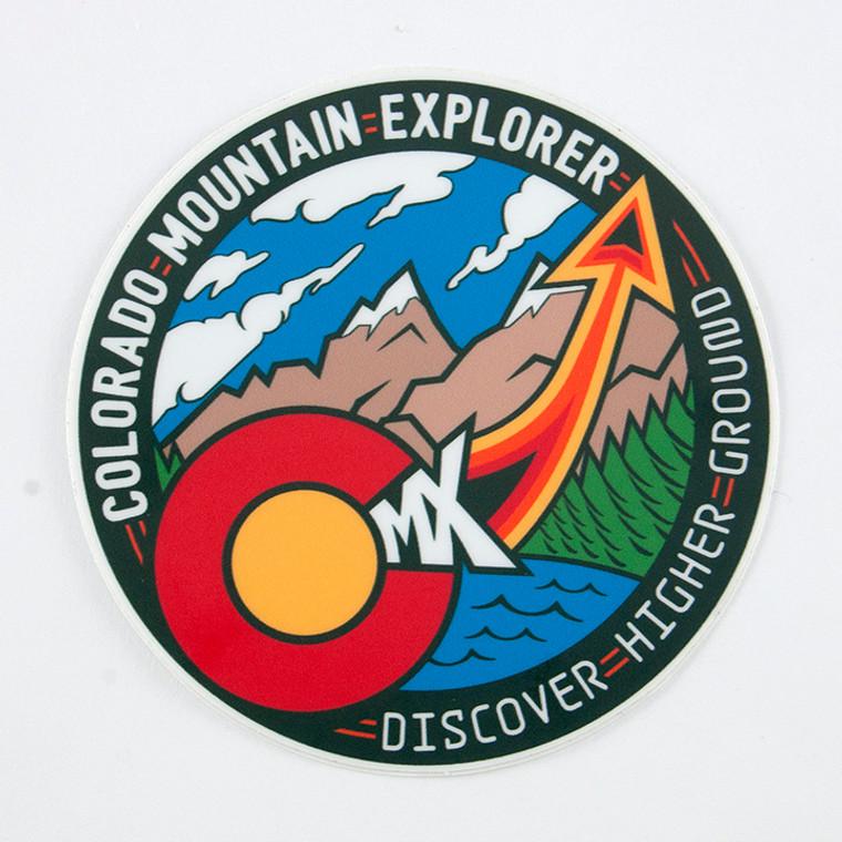 Colorado Mountain Explorer Sticker