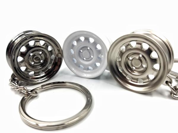 Steelies Car Keychain