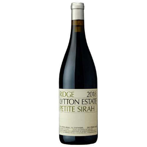 Ridge Vineyards Lytton Estate Petite Sirah
