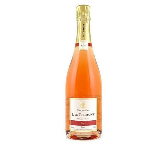J. de Telmont Cuvée Grand Rosé Brut