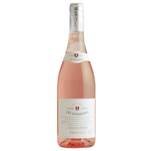 2020 Les Vignerons de St.Hilaire d'Ozilhan Cotes du Rhone Prestige Rose