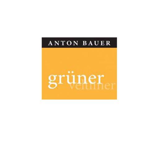 Anton Bauer Gruner Veltliner Wagram label