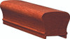 6210P Soft Maple or Ash Plowed Handrail