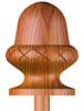 CA-411 Carved Acorn