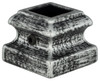 SH901 Flat Shoe for Hammered Balusters (Antique Nickel Pictured)
