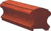 6710P American Cherry or Alder Plowed Handrail