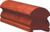 6519P Hard Maple Plowed Handrail