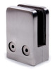 """316 Stainless Steel Glass Clamp 1 11/16"""" x 2 23/32"""" for Flat Tube (E0085)"""