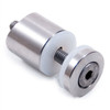 """E40560 Stainless Steel Glass Clamps and Holders for Tube 1 2/3"""" Diameter"""