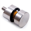 E40583 Stainless Steel Glass Clamps and Holders for Square Tube
