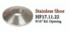 HF 17.11.22 Round Stainless Shoe Collar
