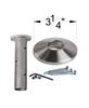 HF17.2.3 Newel Post Collar Kit with shoe dimension