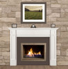 The Marshall Fireplace Mantel Surround, 56 Lifestyle View
