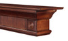 The Devonshire 416-72 Mantel Shelf, Right Corner without Corbels