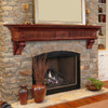 The Devonshire 416-72 Mantel Shelf, Life Style View 2