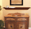 The Homestead 418 Fireplace Mantel Shelf, Life Style View